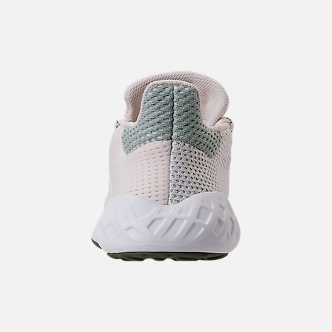 Back view of Women's adidas Tubular Dusk Casual Shoes in Chalk White/Ash Green/White
