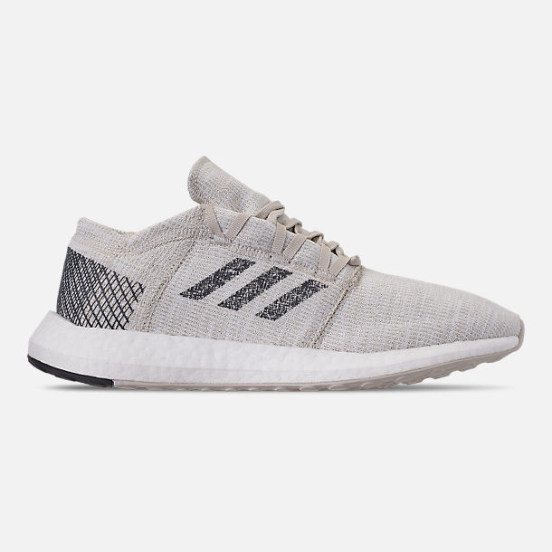 low priced 0a003 37588 Right view of Men s adidas PureBOOST GO Running Shoes in Non-Dyed Grey Six