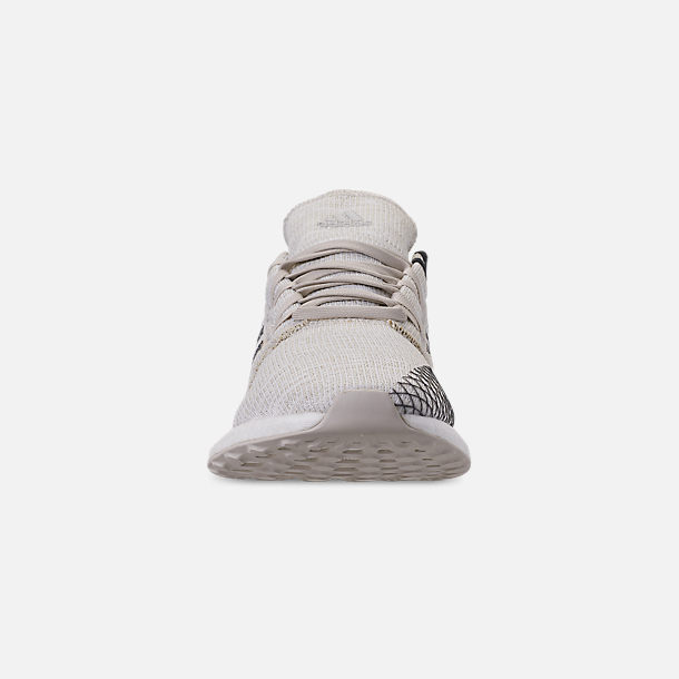 new product c7c3e eaeac Front view of Men s adidas PureBOOST GO Running Shoes in Non-Dyed Grey Six