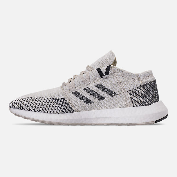 buy online 90d7b 01c28 Left view of Men s adidas PureBOOST GO Running Shoes in Non-Dyed Grey Six