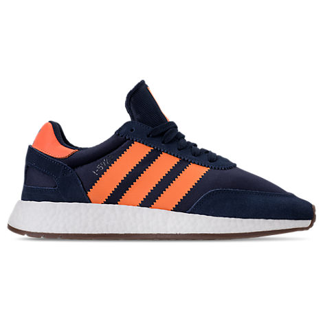 Adidas Men'S Iniki Runner Casual Sneakers From Finish Line in Blue