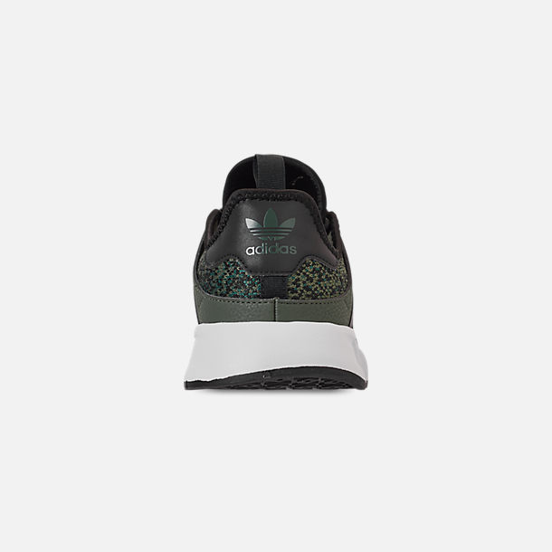 Back view of Men's adidas Originals X_PLR Casual Shoes in Base Green/Core Black/Footwear White