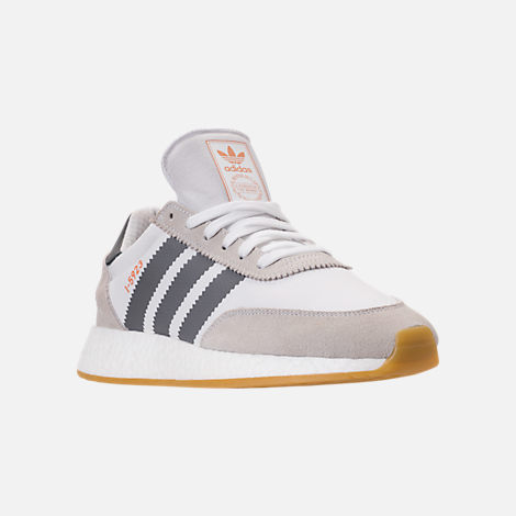 best website b2921 350fc Three Quarter view of Men s adidas I-5923 Runner Casual Shoes in White Tint