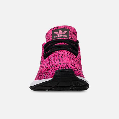 9ad28ad2bab89 Front view of Girls  Big Kids  adidas Swift Run Casual Shoes in Shock Pink
