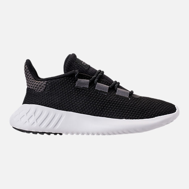Right view of Boys' Big Kids' adidas Tubular Dusk Running Shoes