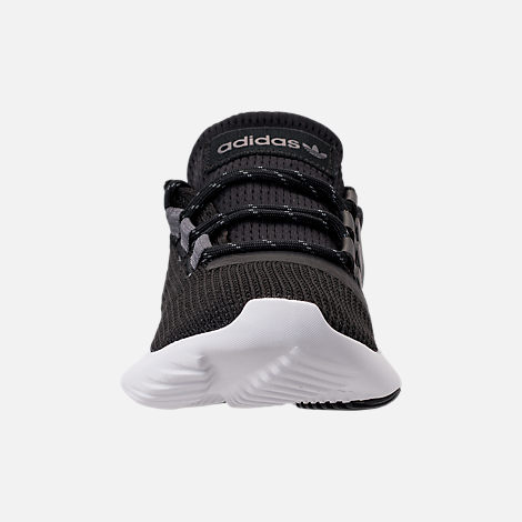 Front view of Boys' Big Kids' adidas Tubular Dusk Running Shoes