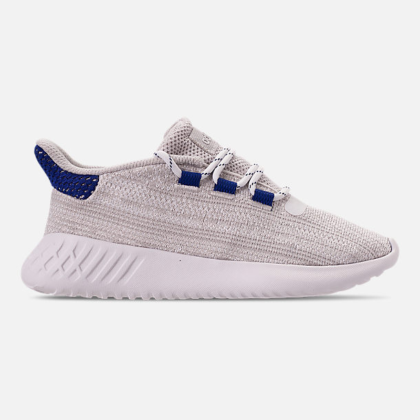 Right view of Boys' Little Kids' adidas Tubular Dusk Casual Shoes in Grey One/Footwear White/Mystery Ink