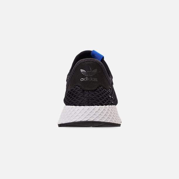 3ab54a42c Back view of Men s adidas Originals Deerupt Runner Casual Shoes in Core  Black Core Black