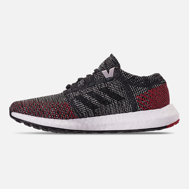 hot sale online eed20 37acd Left view of Boys Big Kids adidas PureBOOST GO Running Shoes in Carbon