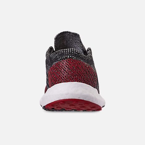 superior quality 05a9e 02a2b Back view of Boys Big Kids adidas PureBOOST GO Running Shoes in Carbon