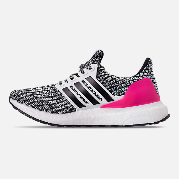 d76a52249 Left view of Girls  Big Kids  adidas UltraBOOST Running Shoes in Feather  White