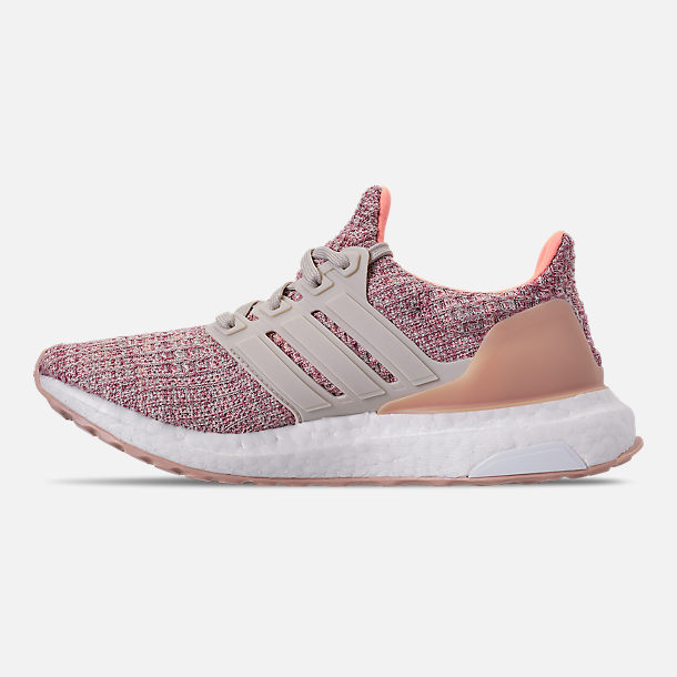 1d399ccef Left view of Girls  Big Kids  adidas UltraBOOST Running Shoes in Trace  Maroon