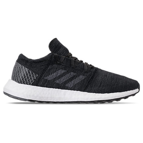 Women'S Pureboost Go Knit Lace Up Sneakers, Black