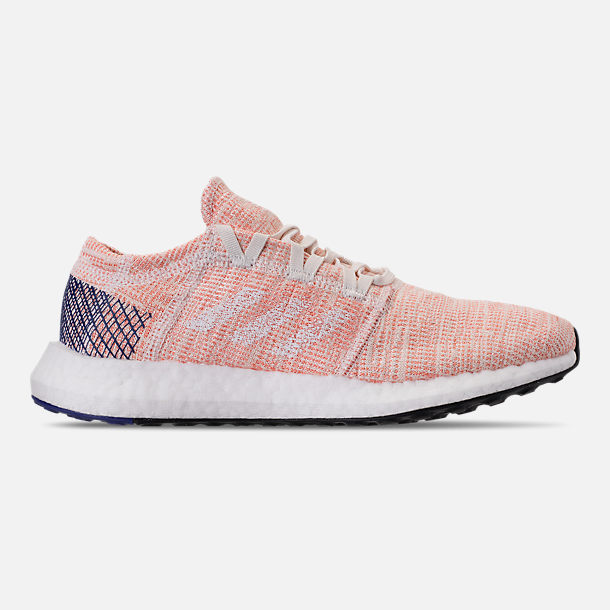 Right view of Women's adidas PureBOOST GO Running Shoes in Cloud White/White/Mystery Ink