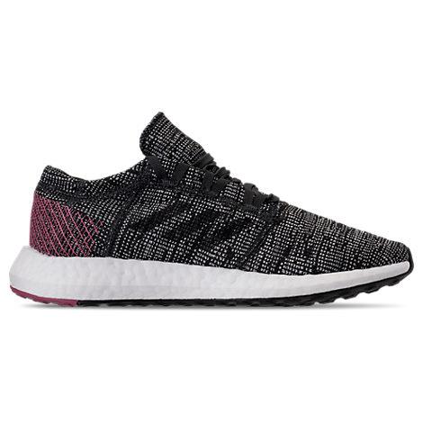 Women'S Pureboost Element Knit Trainer Sneakers in Black