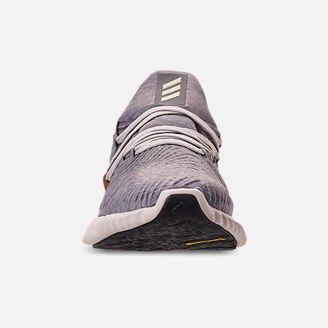 best website 03770 efa65 Front view of Mens adidas AlphaBounce Instinct Running Shoes in Core  HeatherClear Brown
