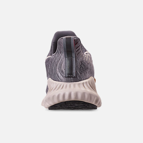 lowest price d9705 977cc Back view of Mens adidas AlphaBounce Instinct Running Shoes in Core  HeatherClear Brown