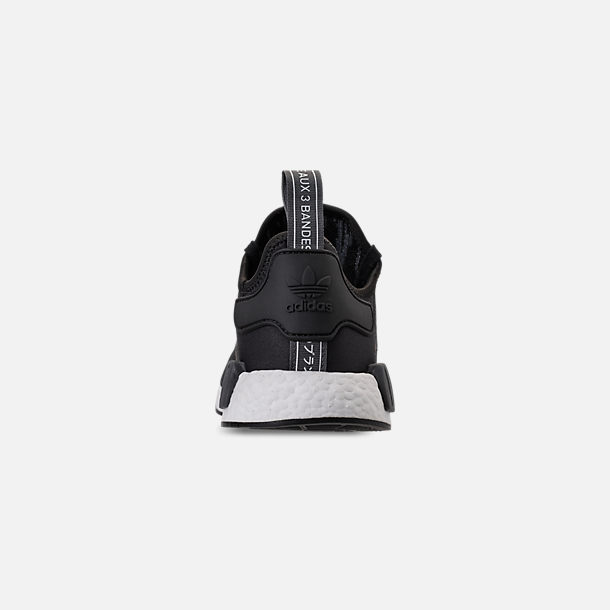 Back view of Men's adidas NMD Runner R1 Casual Shoes in Core Black/Carbon/White