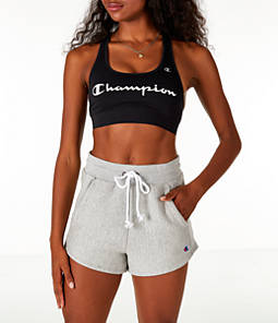 Women's Champion Graphic Script Sports Bra