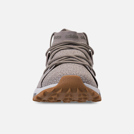 Front view of Women's adidas Cloudfoam Quesa Running Shoes in Clear Brown