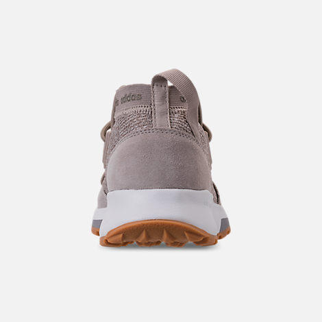 Back view of Women's adidas Cloudfoam Quesa Running Shoes in Clear Brown