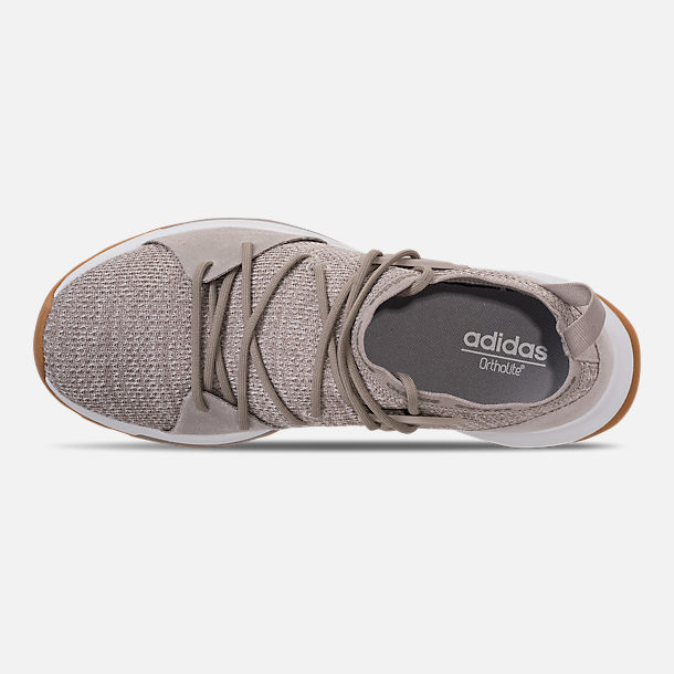 Top view of Women s adidas Cloudfoam Quesa Running Shoes in Clear Brown 0b9d50dd7