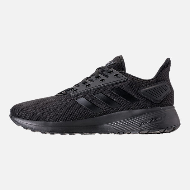 factory authentic 2d0a7 f449d Left view of Mens adidas Duramo 9 Running Shoes in Core Black. Added to  favorites.