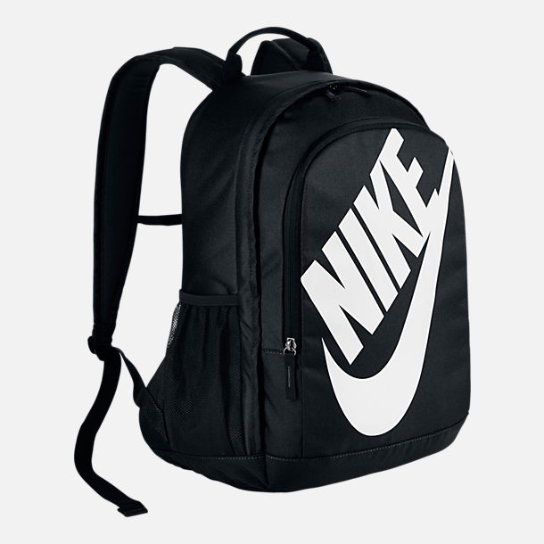 Front view of Nike Hayward Futura 2.0 Backpack in Black/White