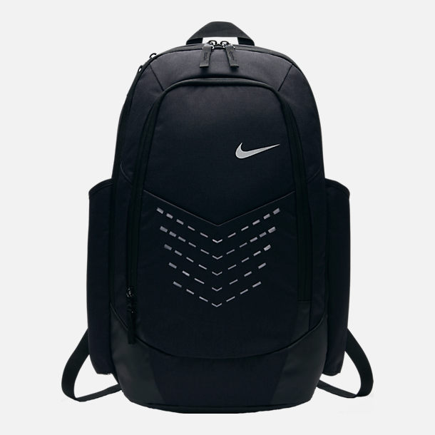 Front view of Nike Vapor Energy Training Backpack in Black