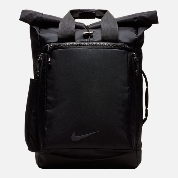 Front view of Nike Vapor Energy 2.0 Backpack in Black/Black/Black
