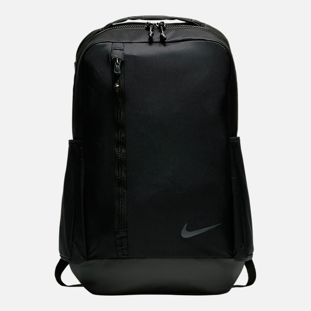 Front view of Nike Vapor Power 2.0 Backpack in Black/Black