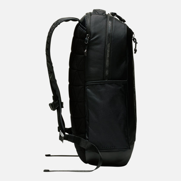 Back view of Nike Vapor Power 2.0 Backpack in Black/Black