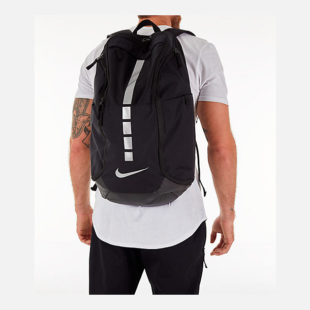 fc99f29201d0 Alternate view of Nike Hoops Elite Pro Backpack in Black Black Metallic Grey