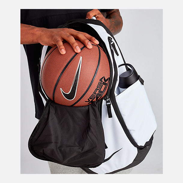 Alternate view of Nike Hoops Elite Pro Backpack in White/Black