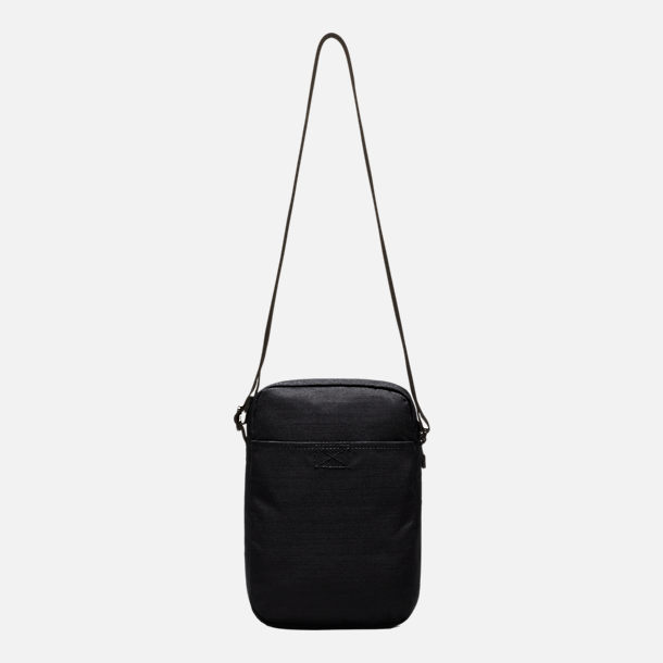 Back view of Nike Air Max Small Items Crossbody Bag in Black/Wolf Grey