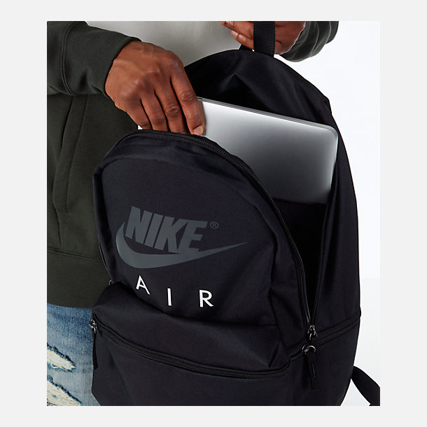 Alternate view of Nike Air Backpack in Black/White