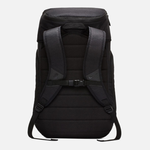 Back view of Nike Kyrie Backpack in Black/Black Reflective