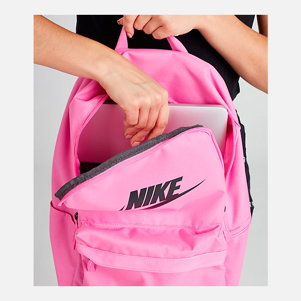 Alternate view of Nike Heritage 2.0 Backpack in China Rose/Black