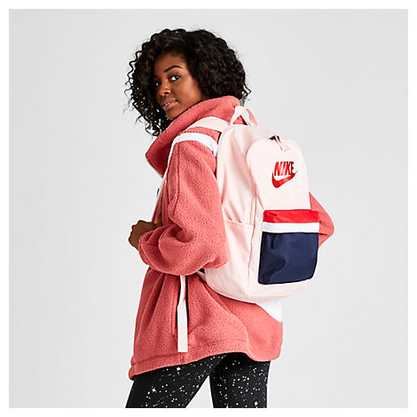 Nike Heritage 2.0 Backpack In Pink Polyester