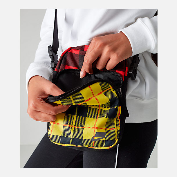 Alternate view of Nike Heritage Small Items Print Crossbody Bag in Black