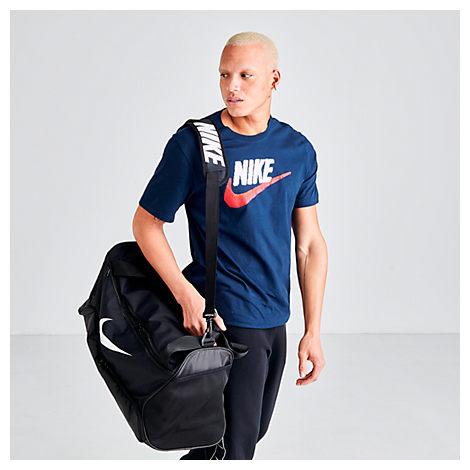 Nike Brasilia Medium Training Duffel Bag In Black Polyester