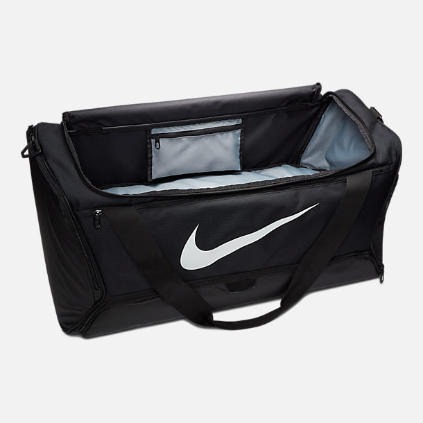 1656c2c39f89dc Alternate view of Nike Brasilia Large Training Duffel Bag in  Black/Black/White
