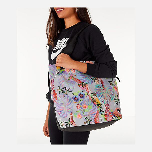 ... Alternate view of Womens Nike Radiate Tote Bag in Tropical HypBlack  super cute f7726 e2df6 ... 7f326a39b6b5f