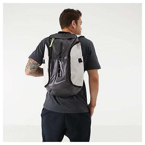 Nike Hoops Elite Pro Reflective Backpack In Grey