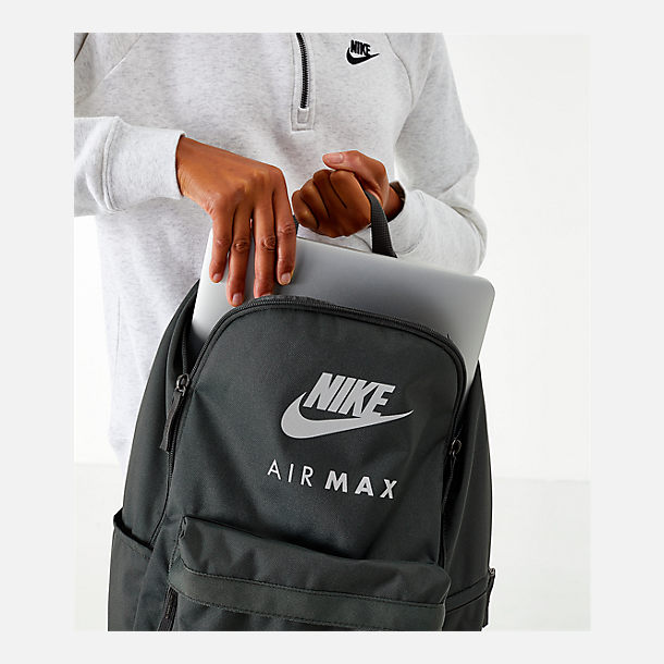 Alternate view of Nike Heritage Backpack in Newsprint/Black/Silver