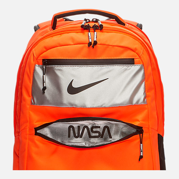 Alternate view of Nike PG 3 x NASA Backpack in Orange/Black