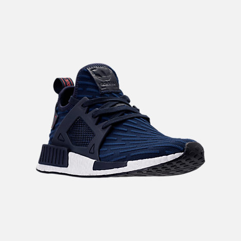 Three Quarter view of Men's adidas NMD Runner XR1 Primeknit Casual Shoes