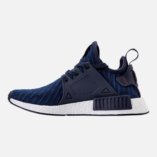 Left view of Men's adidas NMD Runner XR1 Primeknit Casual Shoes