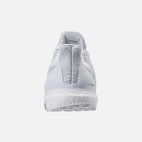 Back view of Women's adidas UltraBOOST Running Shoes in White/White/Crystal White