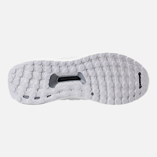 Bottom view of Women's adidas UltraBOOST Running Shoes in White/White/Crystal White